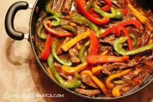 pepper steak review