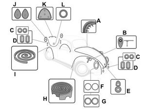 Electrical Wiring Diagram 1971 Karmann Ghia, Electrical