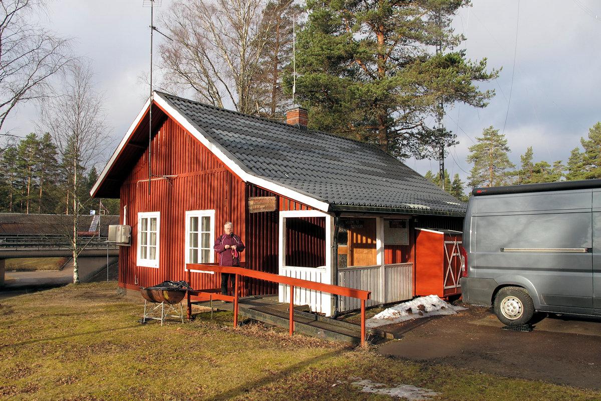 Radio p de grens van Zweden en Noorwegen
