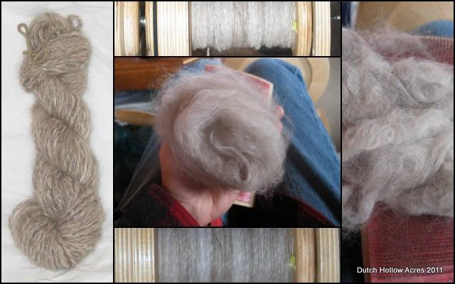 Fiber Arts Friday Cat Hair Yarn Dutch Hollow Acres