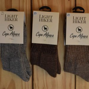 Light Hiker Alpaca Socks Size 4-7