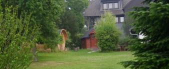 Villa Alpaka mit Grillkota und Fasssauna