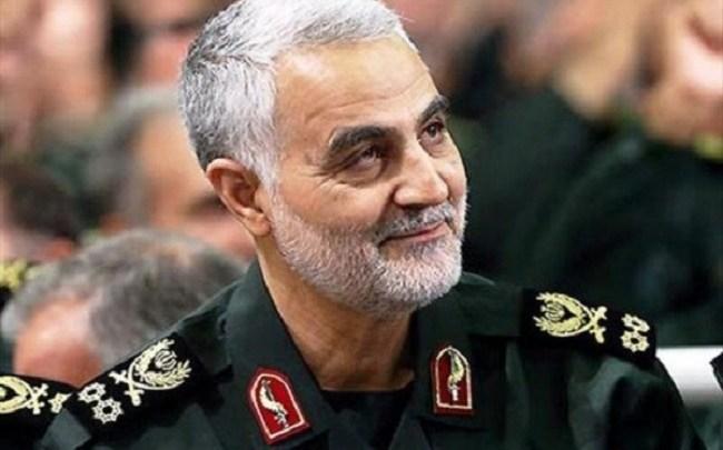 قاسم سليماني- قائد الحرس الثوري الإيراني