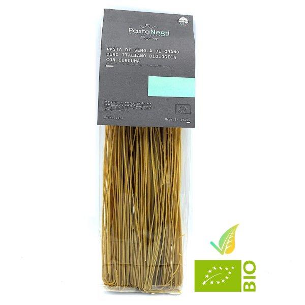 Spaghetti di Semola con Curcuma Biologico
