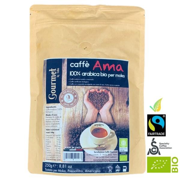 Caffè 100% Arabica Biologico