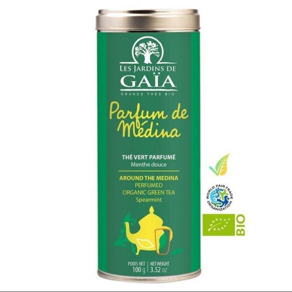 Tè verde alla menta Biologico