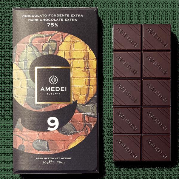 9 Cioccolato fondente extra 75%
