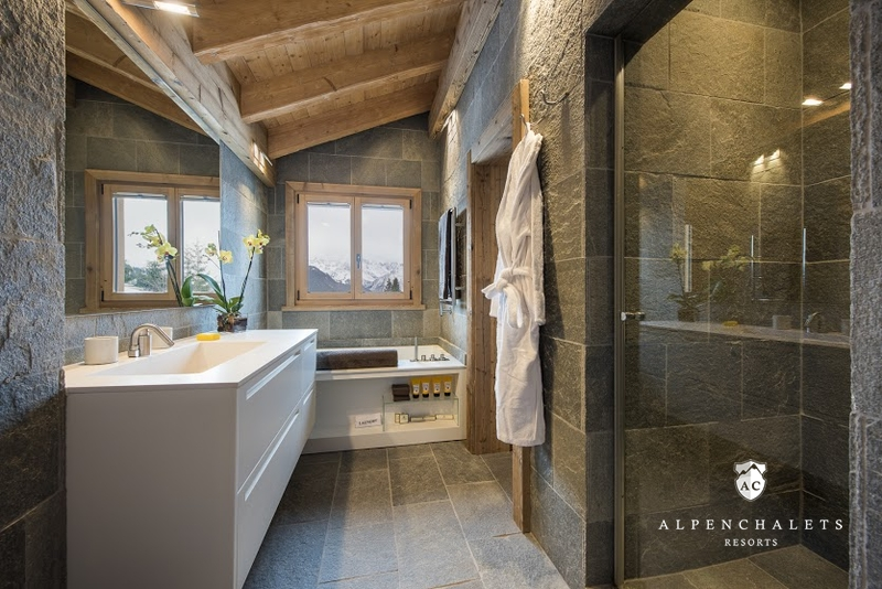 Luxurises Wellnesschalet Diane Verbier  Httenurlaub in