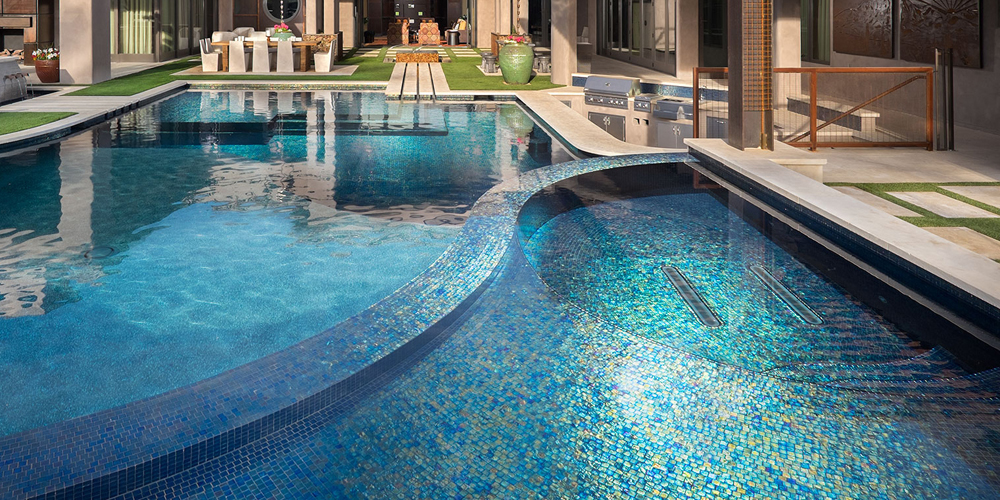All The Right Curves : Alpentile Glass Tile Pools and Spas