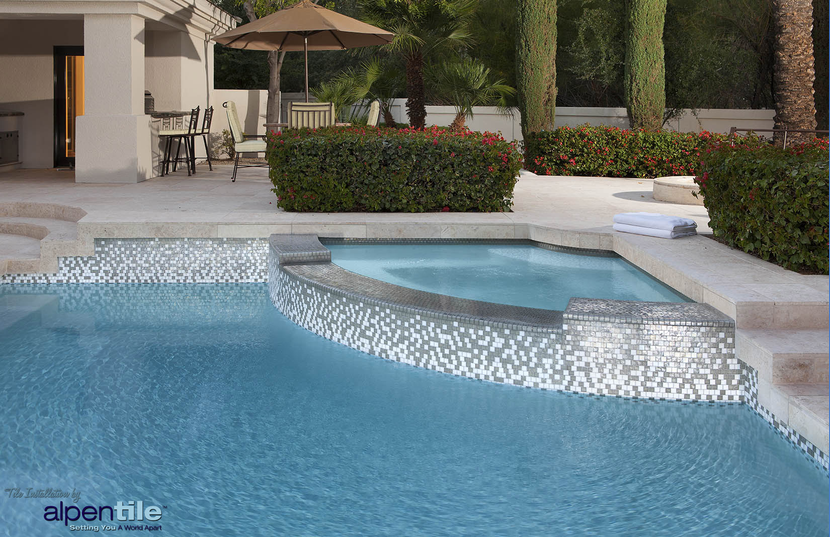 Alpentile Glass Mosaic Swimming Pool Designs Alpentile