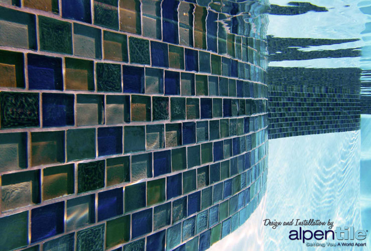 Alpentile Glass Mosaic Swimming Pool Designs : Alpentile ...