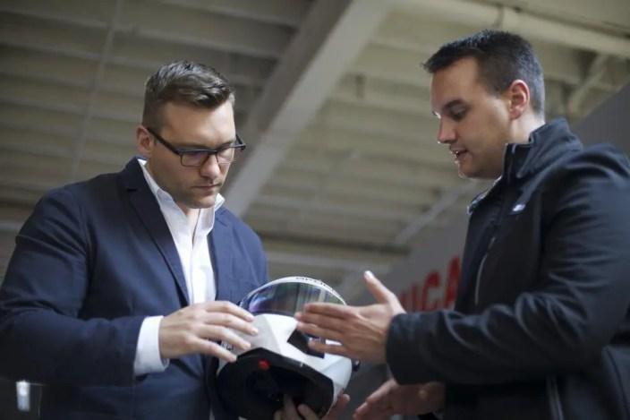 Die Gründer und Entwickler Marcus (li.) und Mitchell Weller.