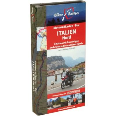 Motorradkarten-Box-Italien