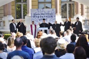 Cérémonie interreligieuse d'hommage du 14 juillet