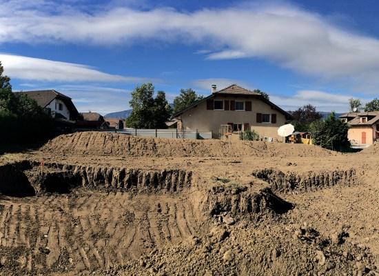 Démarrage des travaux sur le chantier des villas Pauline