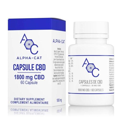 Capsules de CBD 6%