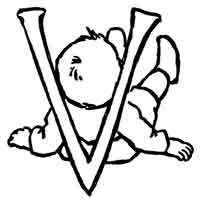 Baby » Alphabet Coloring