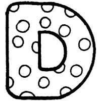 Polka Dot » Alphabet Coloring