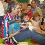 Storytelling visit by local author