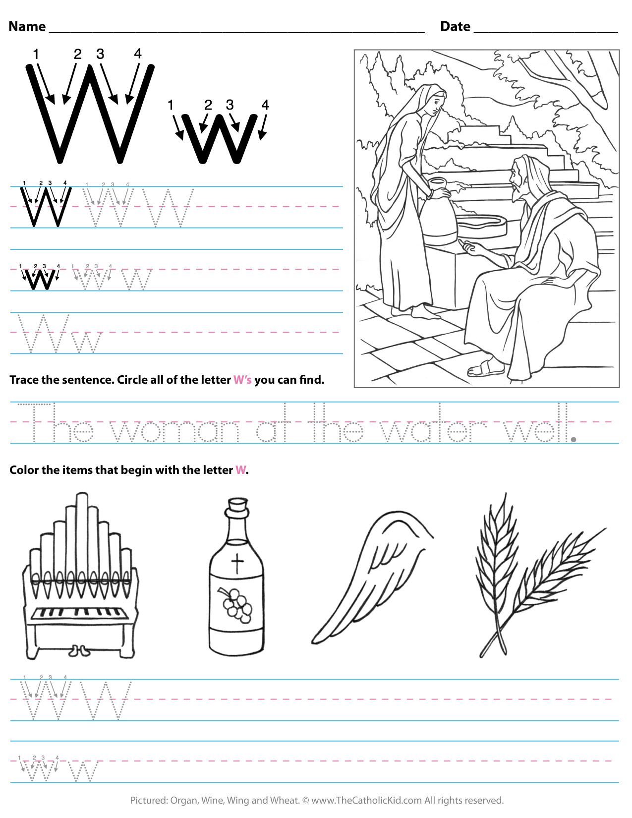 Letter N Worksheets For Pre K