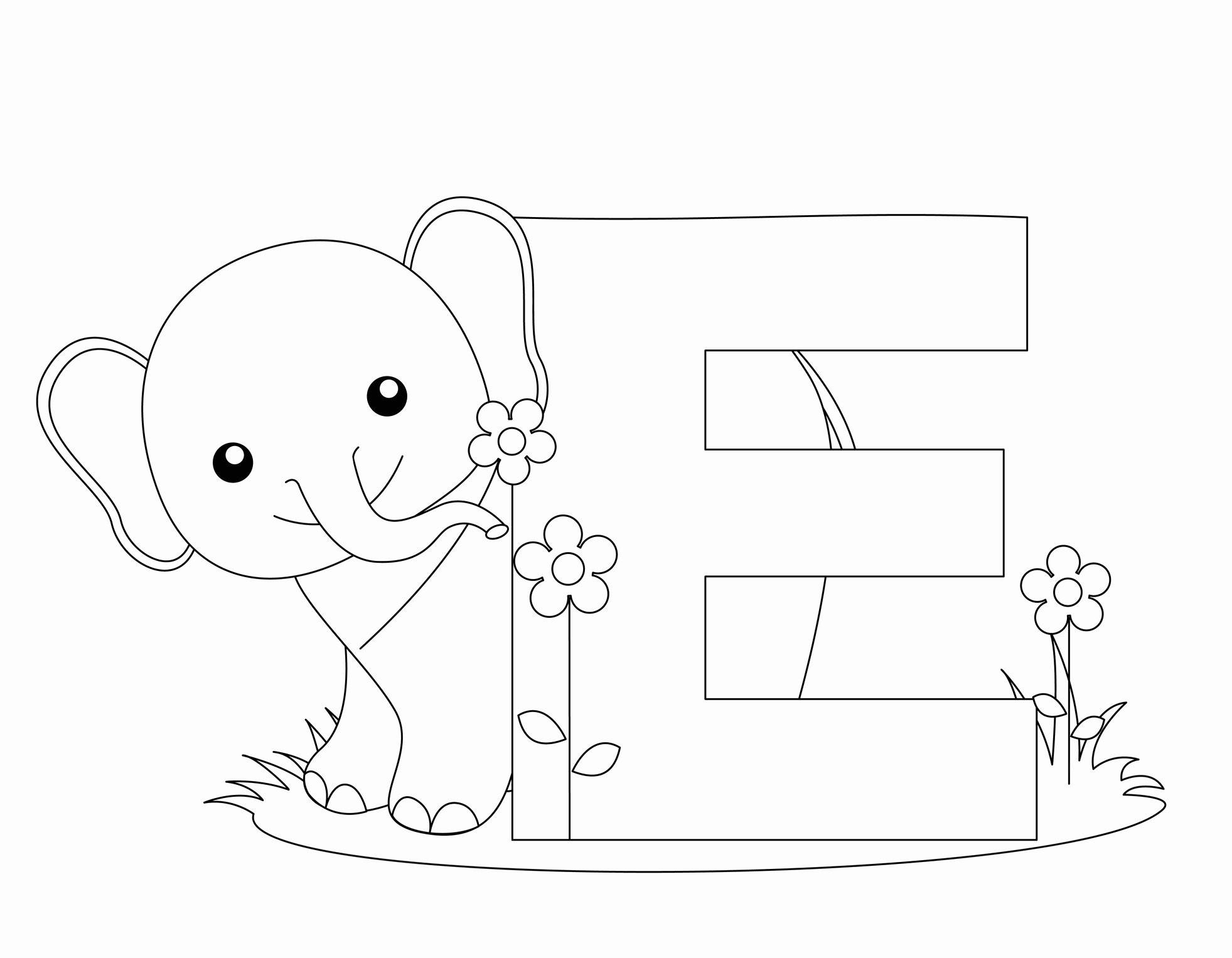 Alphabet Colouring Worksheets For Kindergarten