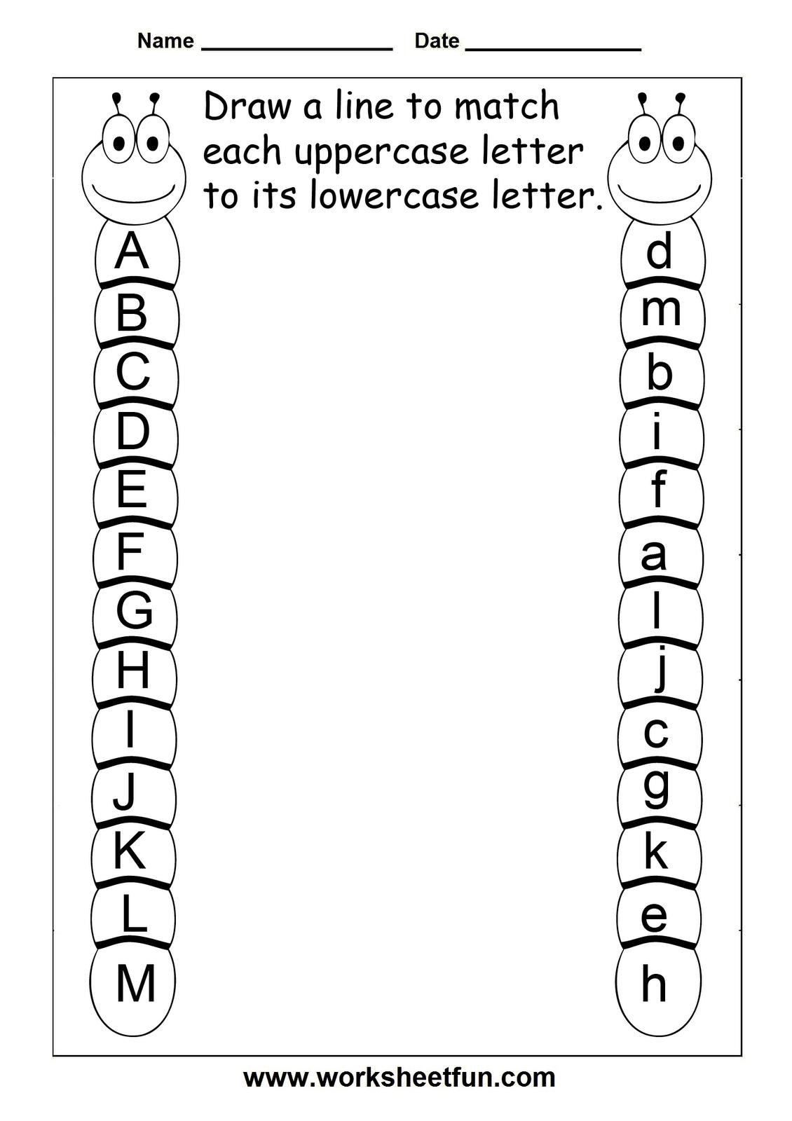 Alphabet Activity Worksheets