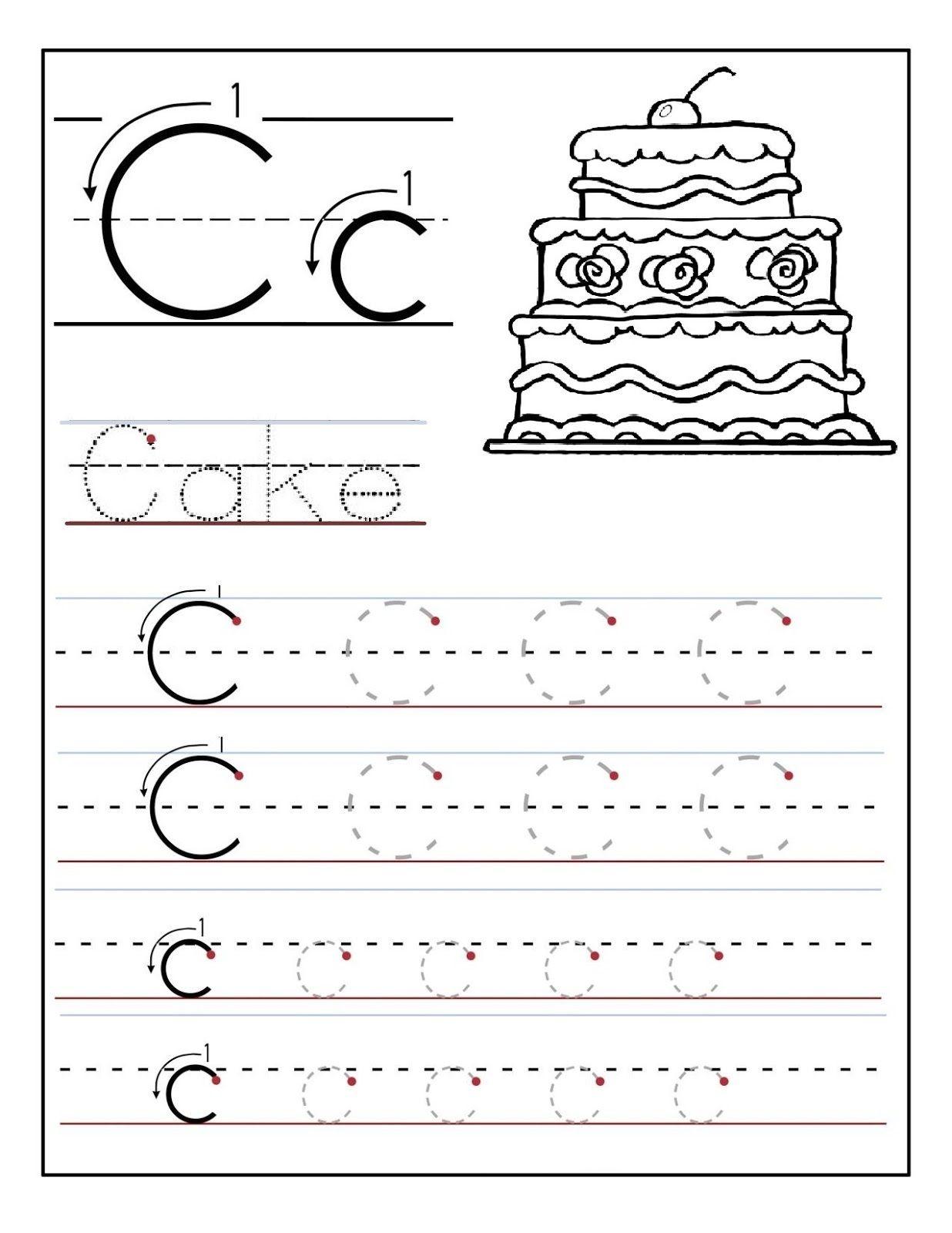 Alphabet Worksheets K5