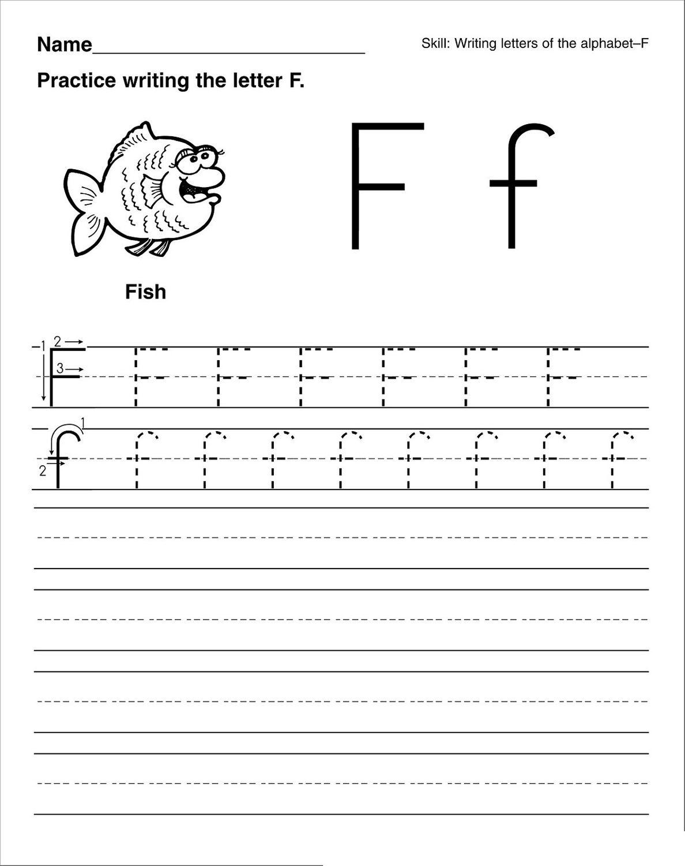 Letter A Worksheets For Preschool