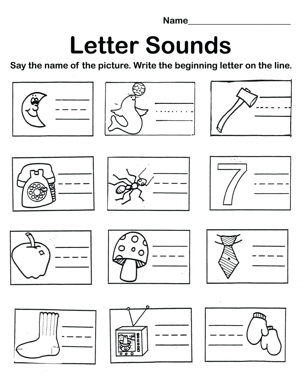 Letter Worksheets Review