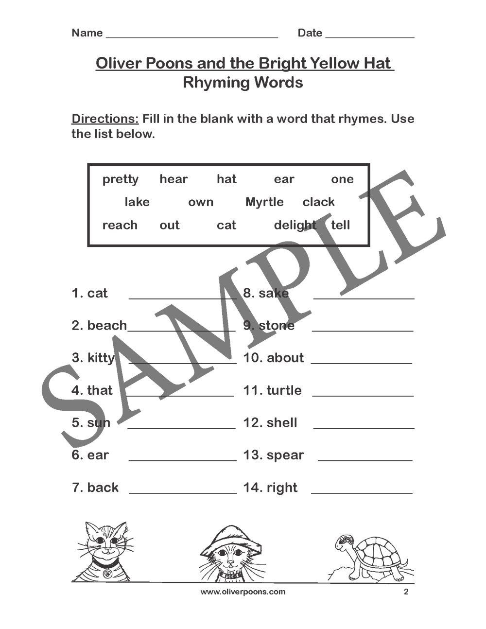 medium resolution of Train Rhyming Worksheets   Printable Worksheets and Activities for  Teachers