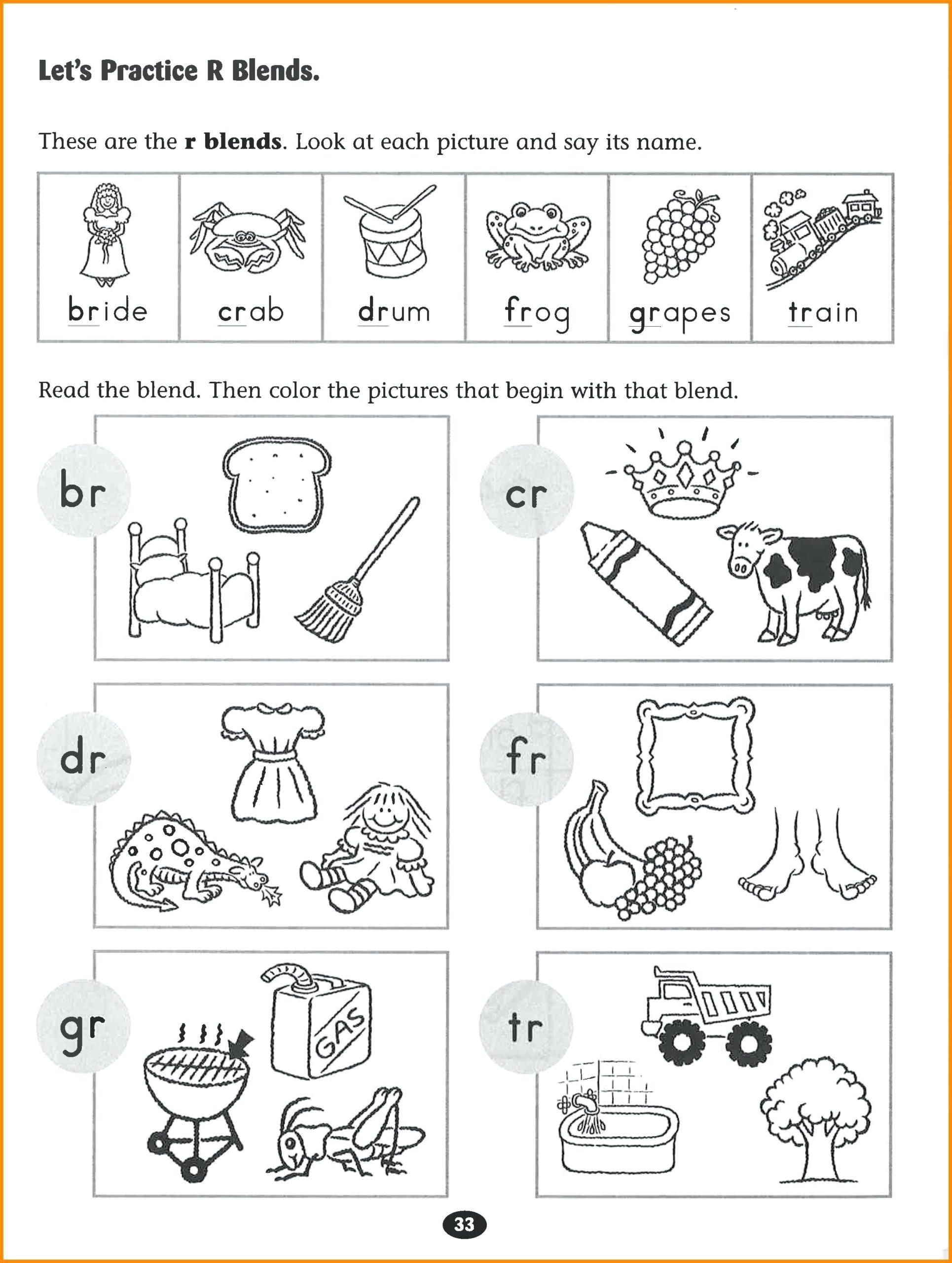 Alphabet Phonics Worksheets For Kindergarten