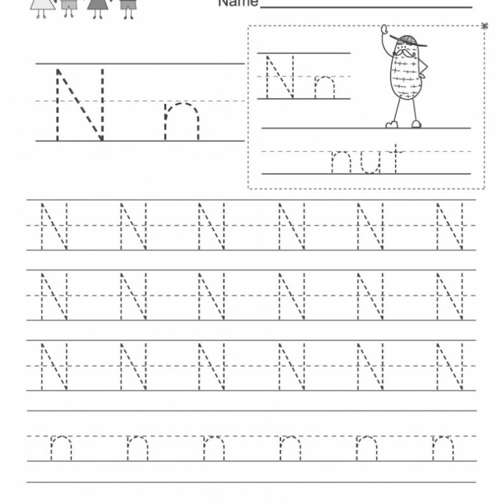 Letter Nn Worksheets For Preschool