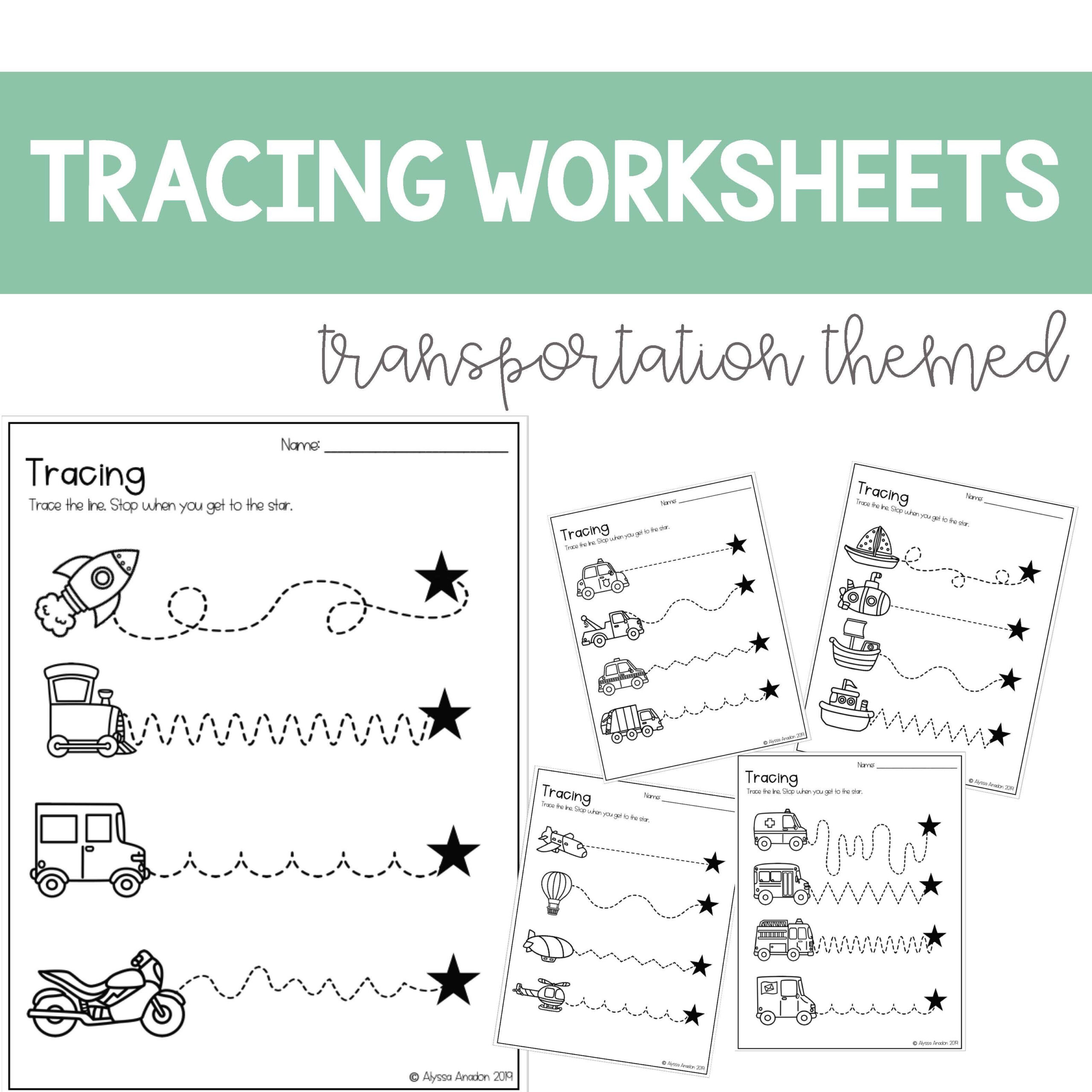 Pre K Name Tracing Worksheets Free