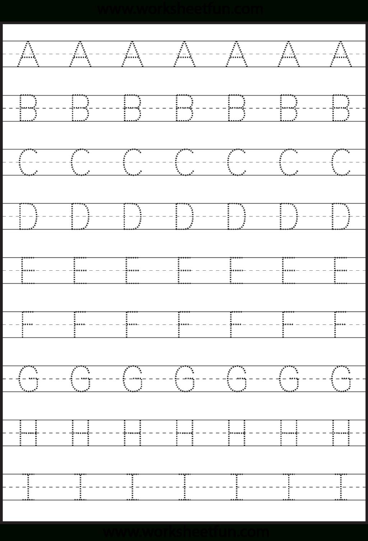 Alphabet Tracing Name