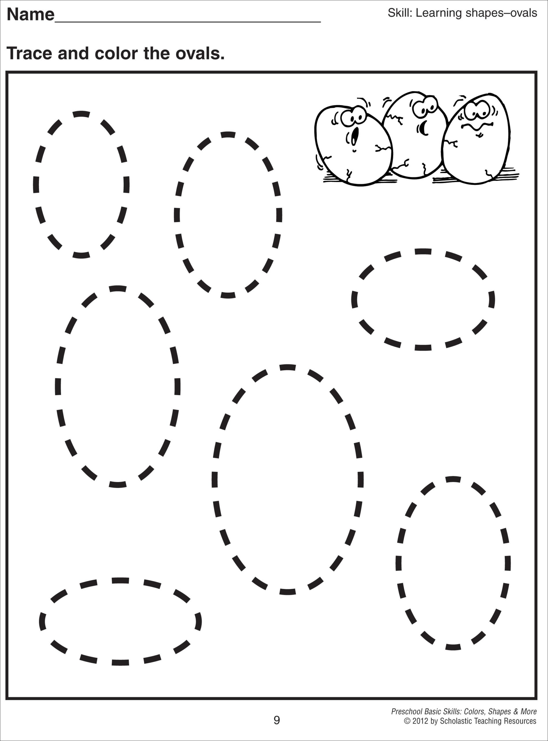 Spring Tracing Worksheets