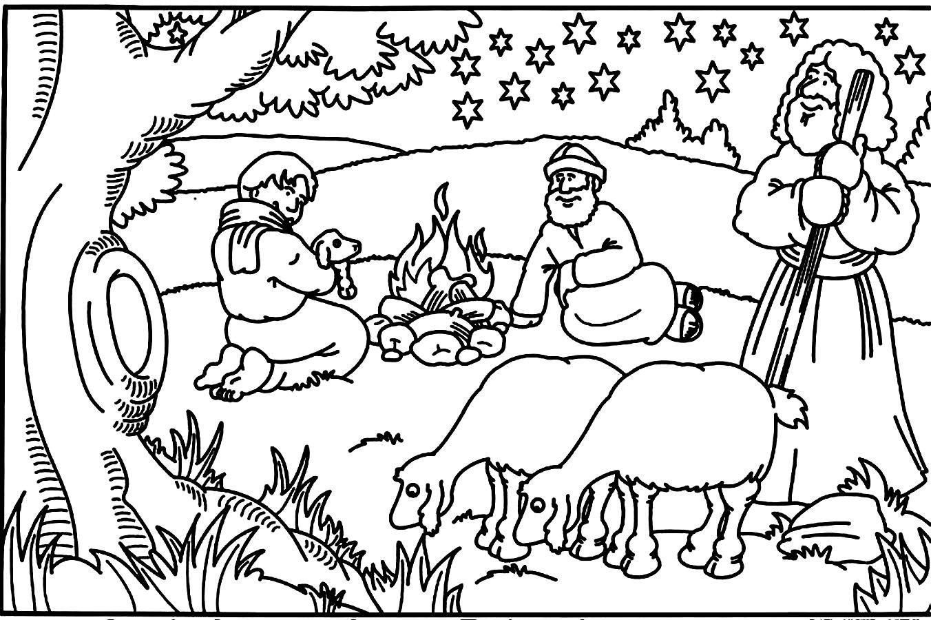 Christmas Bible Story Worksheets