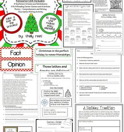 3rd Grade Christmas Language Arts Worksheet   Printable Worksheets and  Activities for Teachers [ 2560 x 1536 Pixel ]