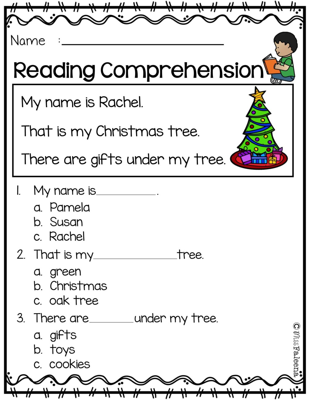 medium resolution of 5th Grade Christmas Language Worksheets   Printable Worksheets and  Activities for Teachers