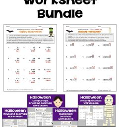 Halloween Math Worksheets   Printable Worksheets and Activities for  Teachers [ 2560 x 1463 Pixel ]