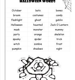 Halloween Adjective Worksheets 3rd Grade   Printable Worksheets and  Activities for Teachers [ 1650 x 1275 Pixel ]