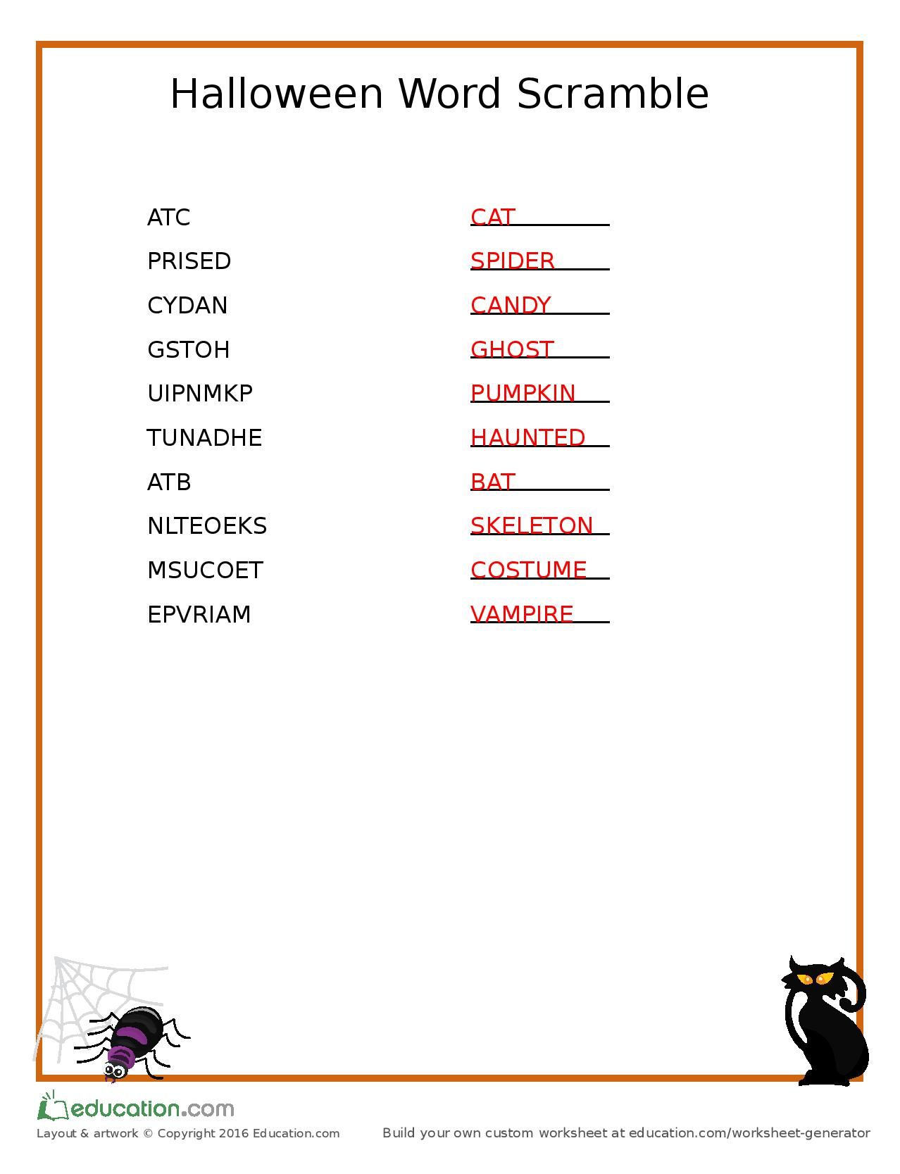 hight resolution of Paragraph Scramble Worksheet   Printable Worksheets and Activities for  Teachers