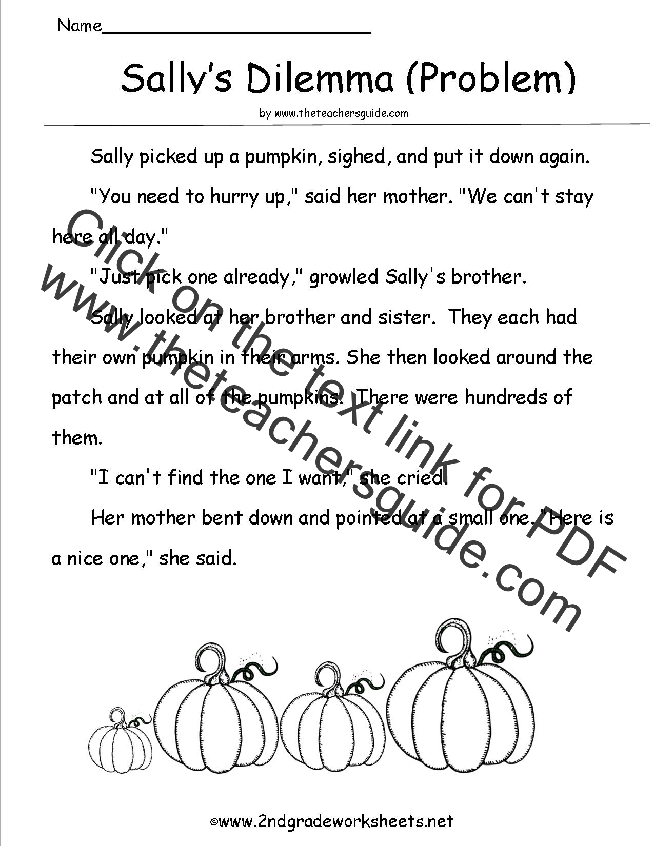 Halloween Independent 1st Grade Worksheet