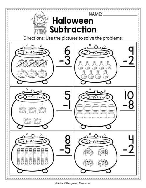 small resolution of 4th Grade Halloween Addition Worksheet   Printable Worksheets and  Activities for Teachers
