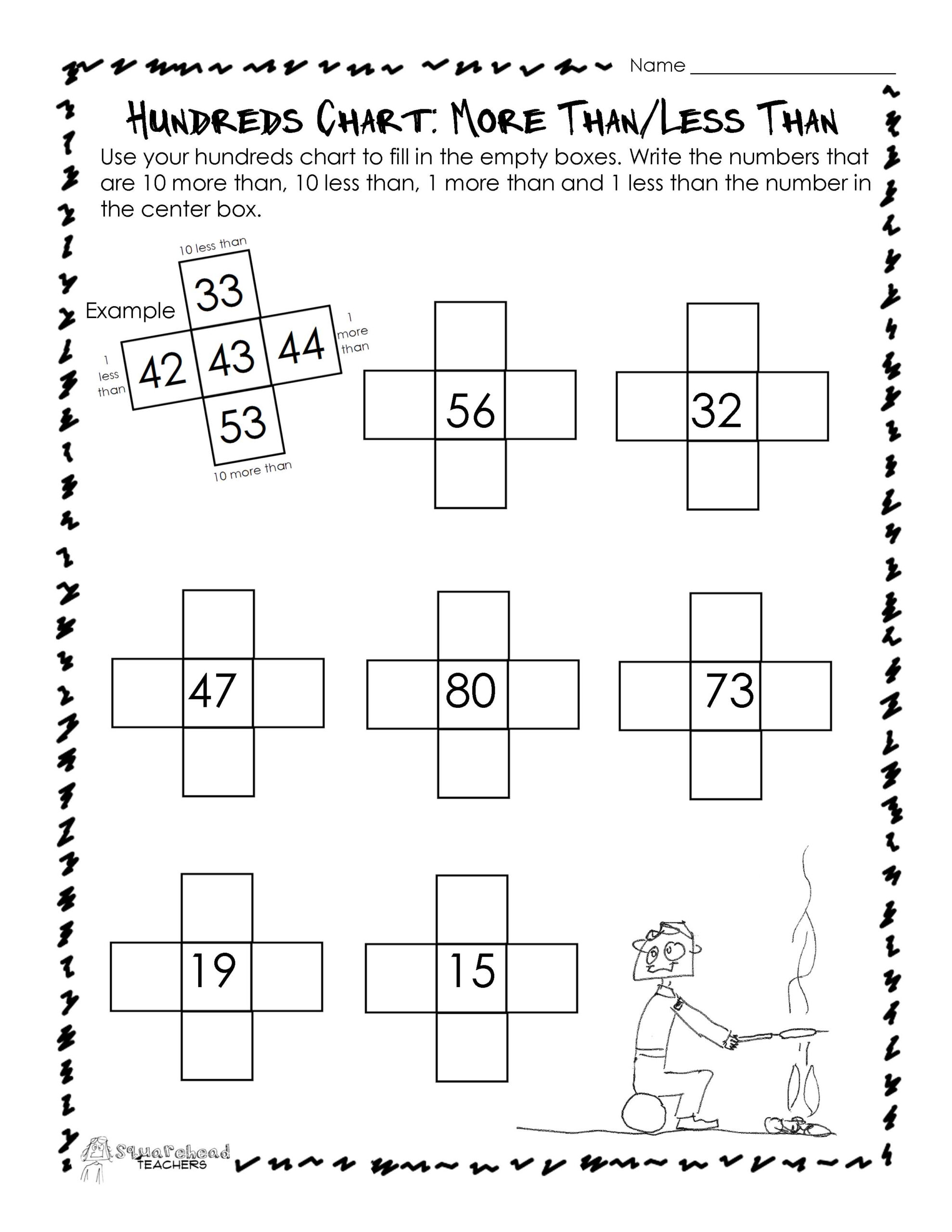 Halloween Worksheets For More Than Less Than And The Same