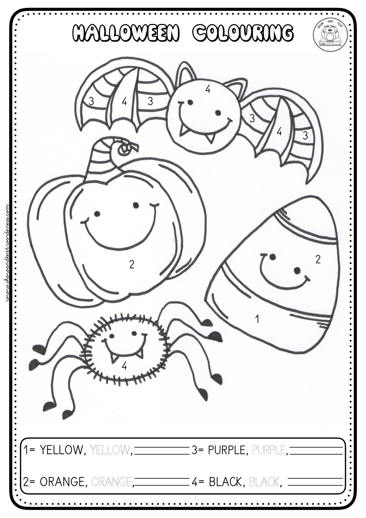 Blog Math Drills New Halloween Worksheets