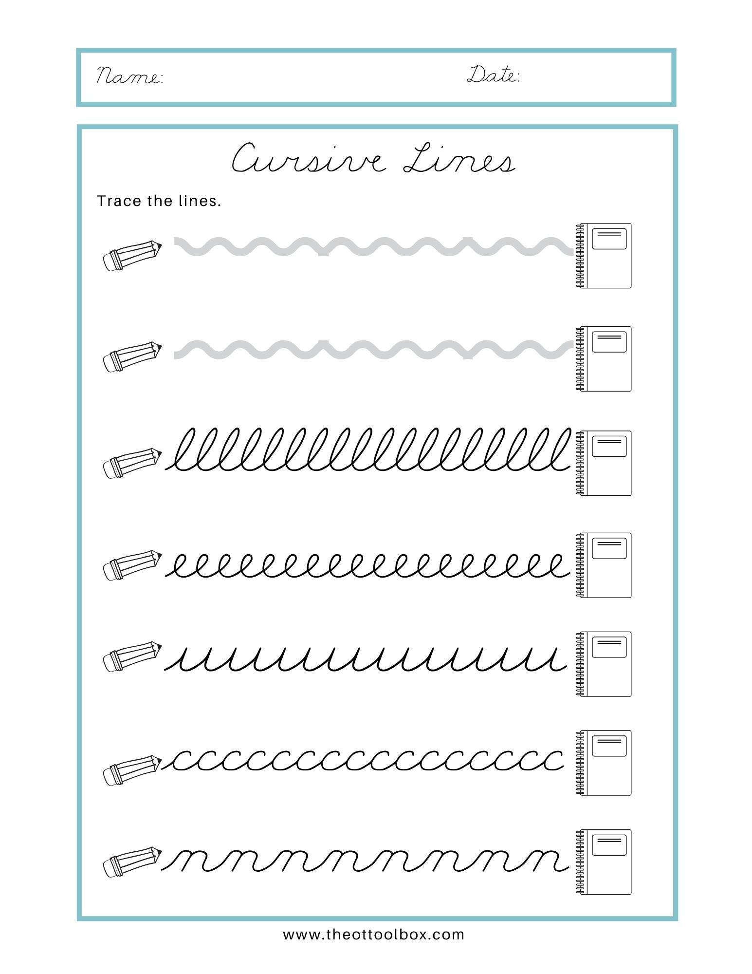 Name Tracing Cursive Generator