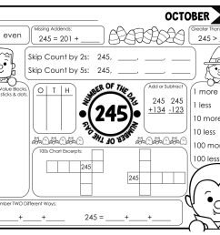 Halloween Math Worksheets Place Value   Printable Worksheets and Activities  for Teachers [ 1978 x 2560 Pixel ]