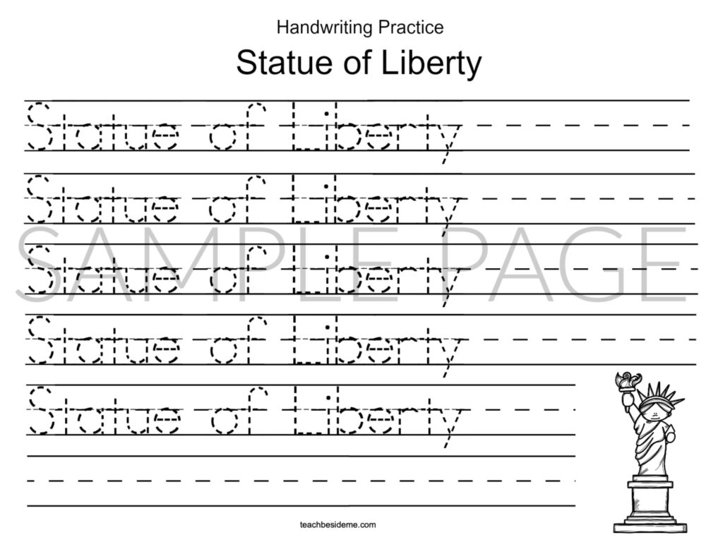 Cursive Alphabet Usa