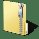 Icono: archivo comprimido ZIP