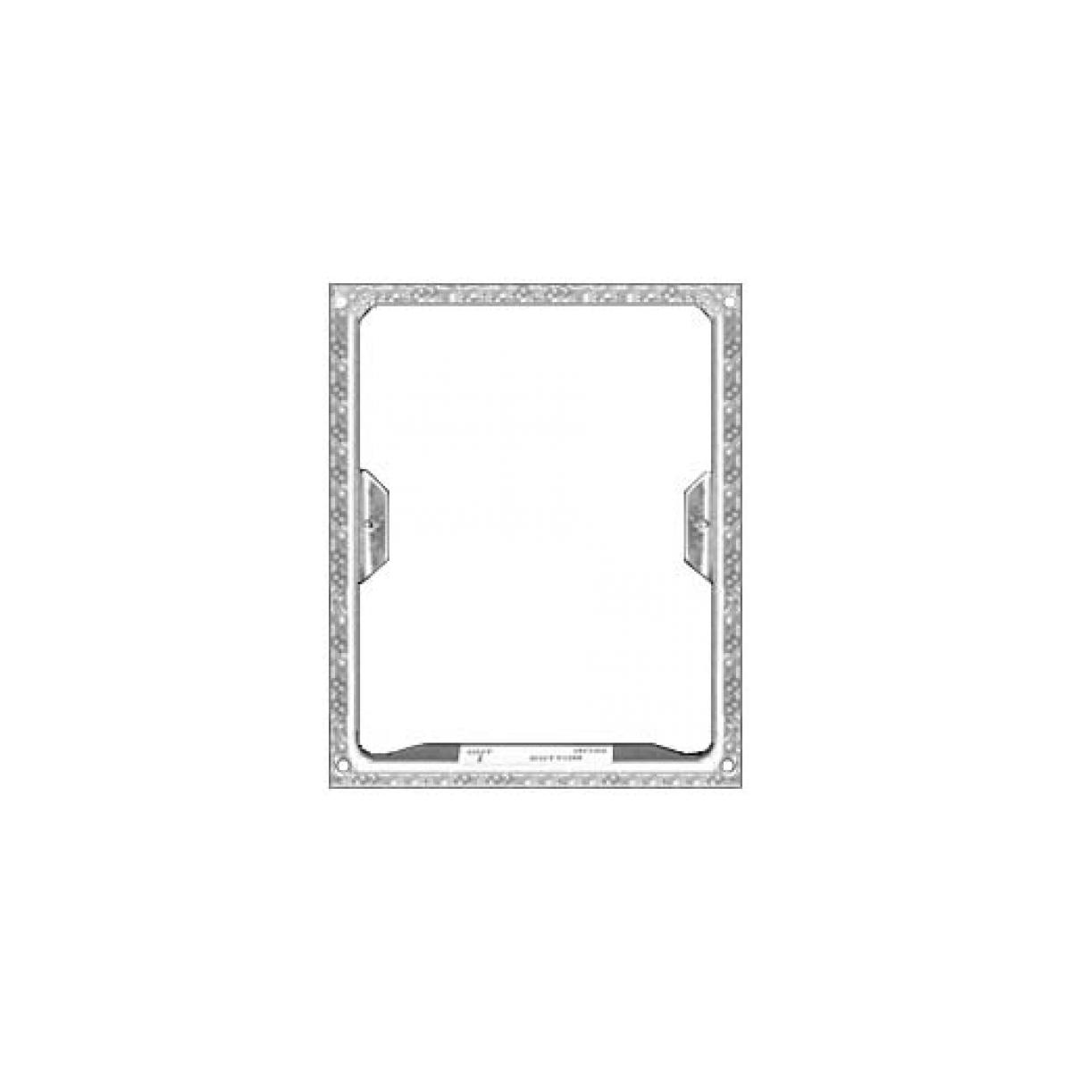 Alpha Communications™ FLUSH MOUNTING RING-GALVANIZED